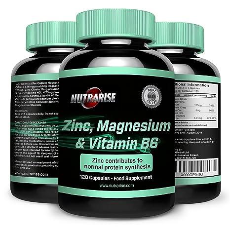 ZMA. Suplemento de Vitaminas y Minerales de alta calidad y potentes beneficios. Colabora con