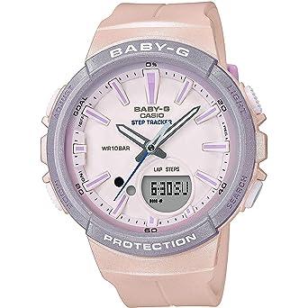 BABY-G Reloj Analógico-Digital para Mujer de Cuarzo con Correa en Resina BGS-100SC-4AER: Amazon.es: Relojes