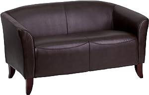 Flash Furniture HERCULES Imperial Series Brown LeatherSoft Loveseat