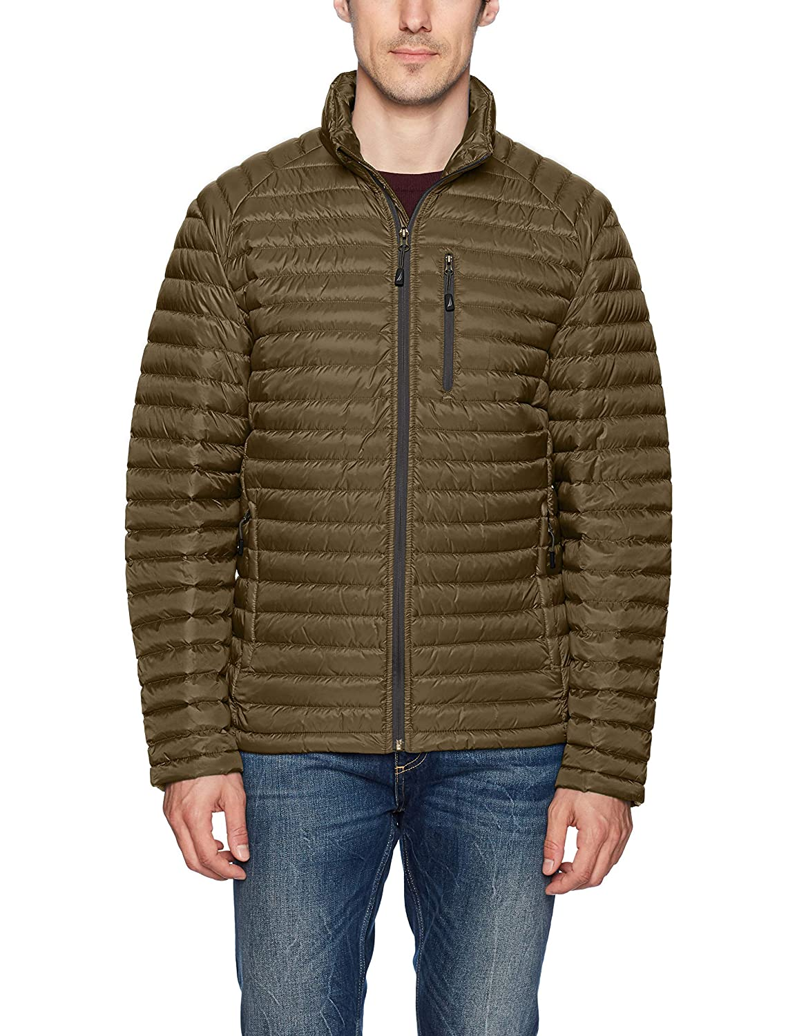 Nautica Men's Down Packable Puffer Jacket Nautica Men's Outerwear NV621705