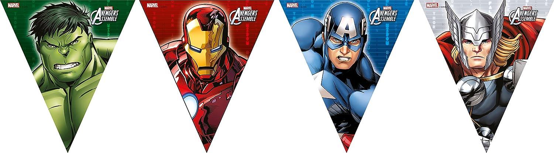 Procos 84656 - Decorazione Porta Marvel Avengers, 150 x 75 cm, Multicolore Ciao SRL 72086