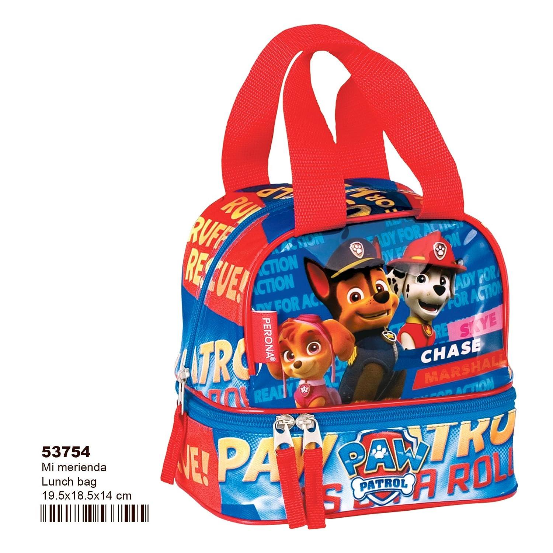"""PAW PATROL 53754 """"Ruff School Lunch Bag Perona"""