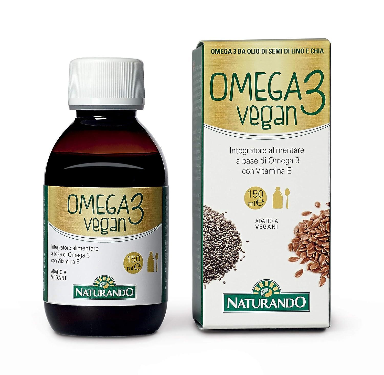 Omega 3 Vegan - Complemento alimenticio para el Metabolismo de los ...