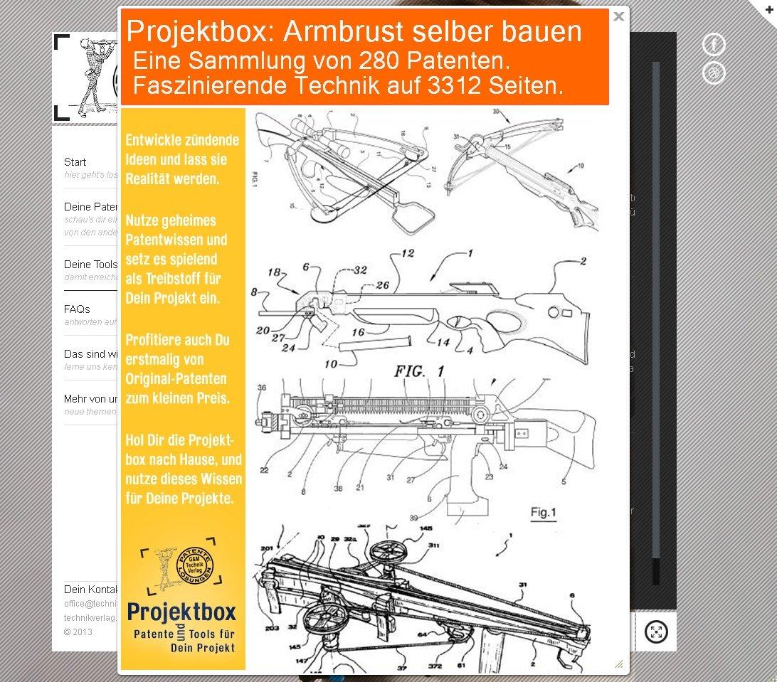 Werkbank selber bauen pdf  Armbrust selber bauen: Deine Projektbox inkl. 280 Original ...