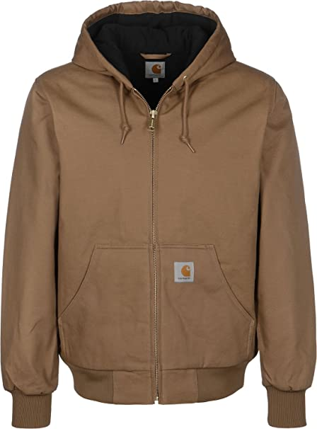 Carhartt WIP Active Chaqueta hamilton brown rigid: Amazon.es: Ropa y accesorios