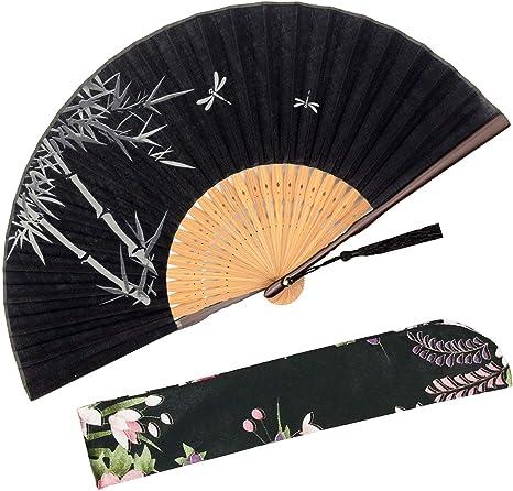 Vintage Folding Hand Fan Japan