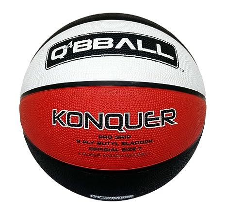 Q4 Kid s konquer - Balón de Baloncesto, Color Bronceado, Talla 5 ...