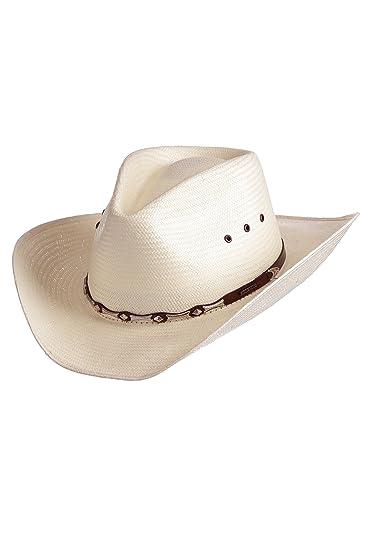 640cd58aa98 Stetson Horizon Crushable Straw Hat at Amazon Men s Clothing store ...