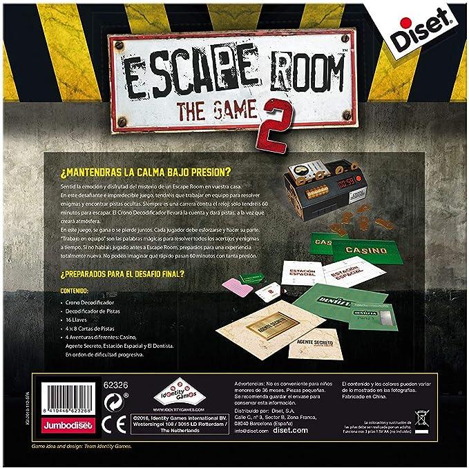 Outletdelocio. Juego de Mesa Escape Room V2 Original. Edicion ...