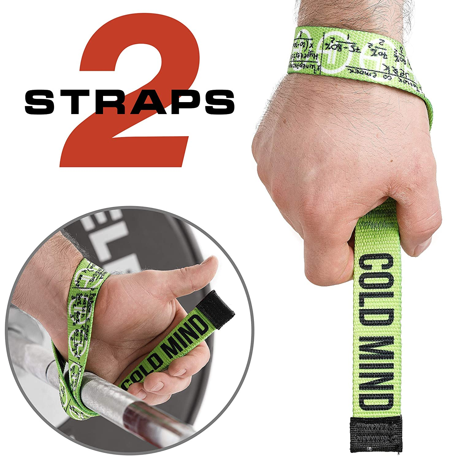 V-Shaped Wrist Wraps for Men and Woman Functional Strength Training Functional Strength Training V-Shaped Wrist Wraps for Men and Woman Powerlifting Camouflage Pair of WARM BODY COLD MIND Lifting Wrist Straps for Olympic Weightlifting