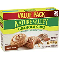 Nature Valley Granola Cups Almond Butter, 12.4 oz