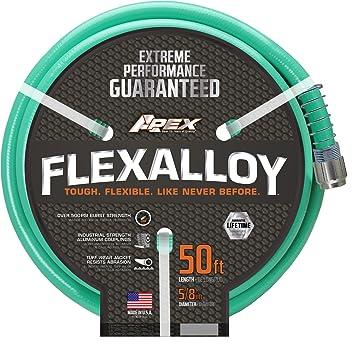 Amazoncom Apex 8550 50 Flex Alloy Garden Hose 58 by 50