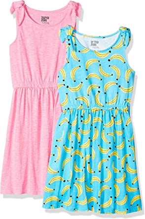 Brand Spotted Zebra Girls Toddler /& Kids Knit Short-Sleeve Tutu Dress