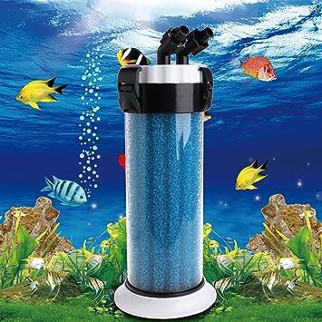 ECMQS Acuario Pre Filtro Externo Esponja Barrel para Acuario QZ DE 30 Tortuga Caja Dispositivo: Amazon.es: Productos para mascotas