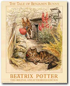 The Tale of Benjamin Bunny Beatrix Potter the Original and Authorized Edition Wall Decor Art Print Poster (16x20)