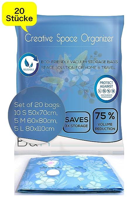 Bolsa de vacío | 20 robustas bolsas de almacenamiento al ...