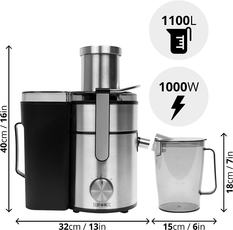 Duronic JE10 - licuadora potente, grande, potencia de 1000 W ...