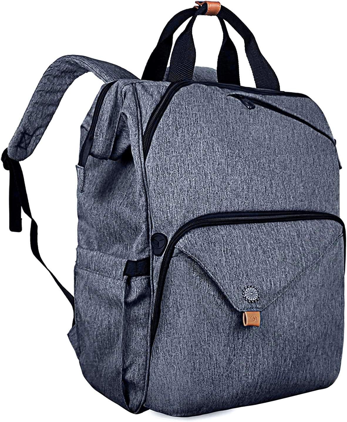 Hap Tim Laptop Backpack, Travel Backpack for Women,Work Backpack (7651-BG)