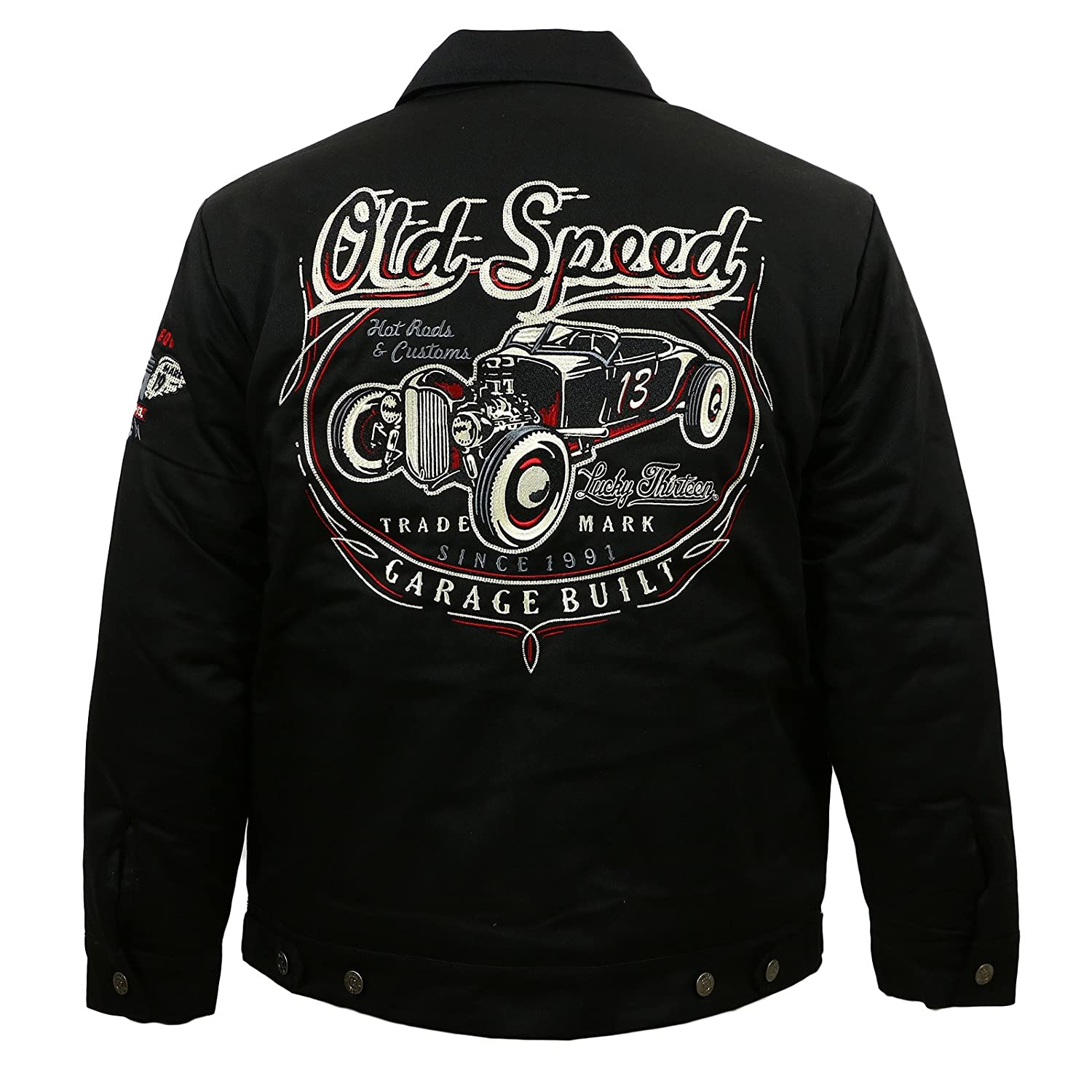 Lucky 13 Men's Old Custom Lined Jacket
