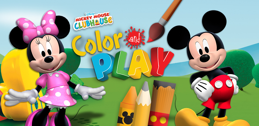 Amazon Com Mickey Mouse Clubhouse Color And Play Appstore For Android