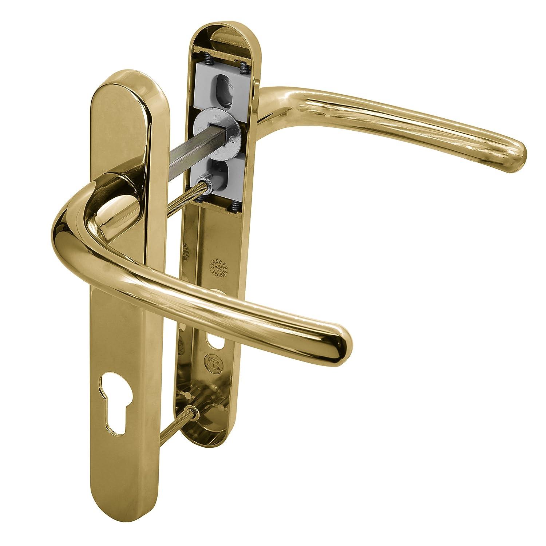 Pression support/ée/: 0,92 bar or Livr/ée avec des vis Poign/ée /à ressort Pour porte en PVC Taille/: 122/mm