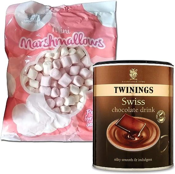 Twinings Luxury Swiss Hot Chocolate With Mini Marshmallows Make Hot Chocolate Bombs Gifts Stirrer And Freak Shakes