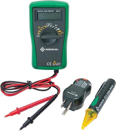 Greenlee – Electrical Kit-Basic Tk-30A , Elec Test Instruments TK-30A