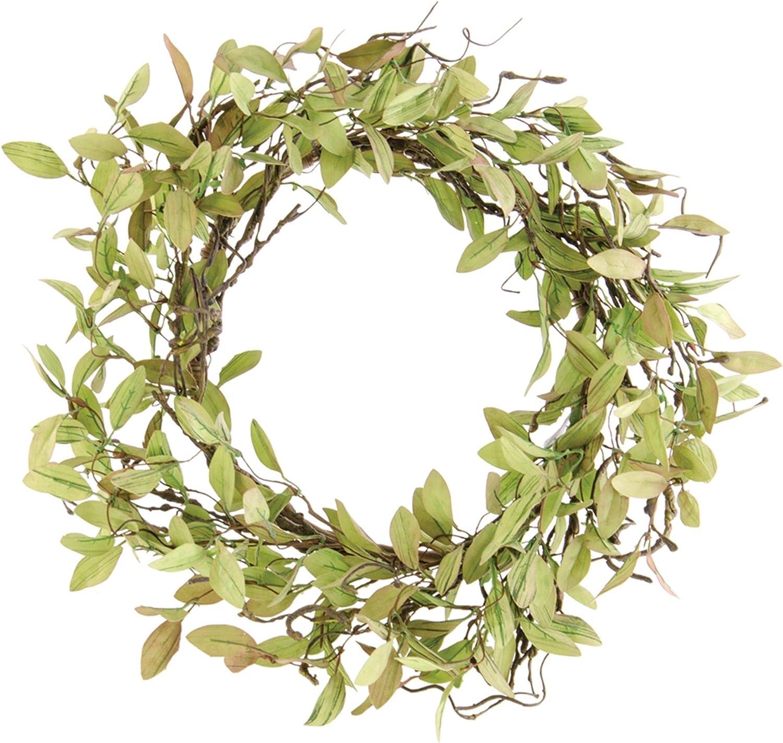 "Sage Leaves /& Twigs 24/"" Wreath"