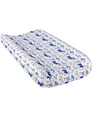 Trend Lab Dr. Seuss New Fish Changing Pad Cover, Blue, Green and Gray