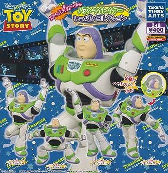 Toy Story Buzz Lightyear coleccioen completa de todo el sistema de cuatro   Amazon.es  Juguetes y juegos bc14101370e