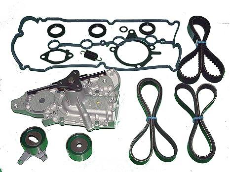 Amazon Com Tbk Timing Belt Kit Mazda Protege 1 5l 1995 To 1997