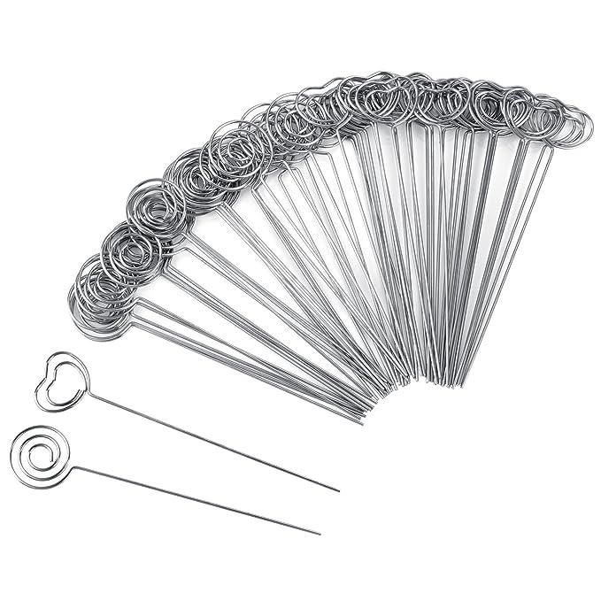 4 opinioni per Willbond 60 Pezzi Clip di Memo Metallo