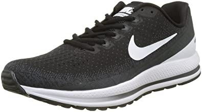 35af5932fd2 Nike Men s Air Zoom Vomero 13 Running Shoes-Black White Antracite-7