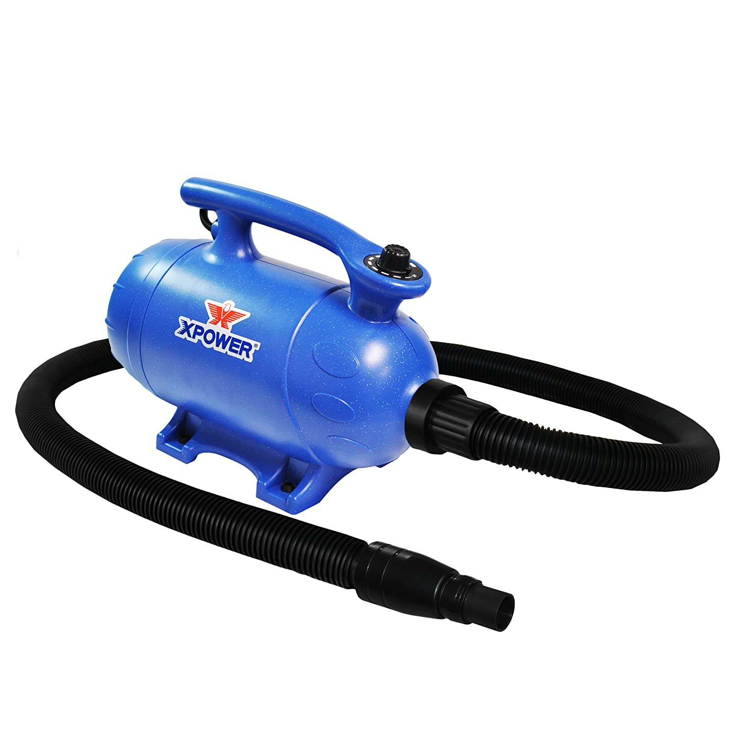 bluee Xpower B-5 4 HP Variable Speed 2-in-1 Pet Dryer and Vacuum
