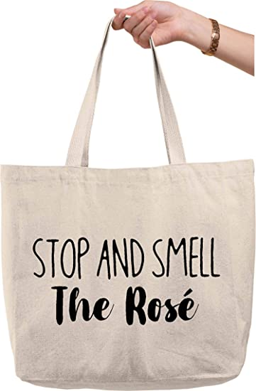 Funny Wine Tote Bag Holder Valentines day gift Singles awareness day