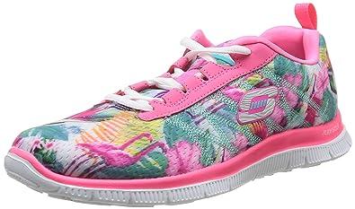 Skechers Flex Appeal Floral Bloom, Zapatillas de Deporte Exterior para Mujer: Amazon.es: Zapatos y complementos