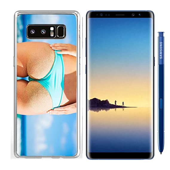 c5818cd2dec Luxlady Samsung Galaxy Note8 Clear case Soft TPU Rubber Silicone IMAGE ID  30831732 Beautiful sexy young