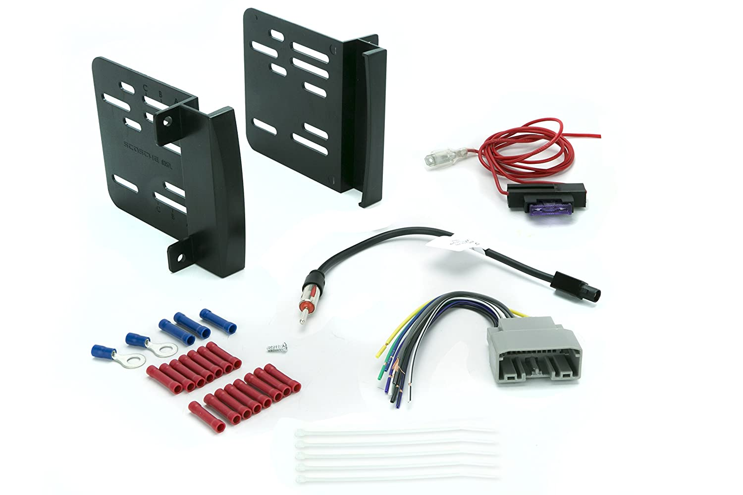 Install Centric ICCR6BN Chrysler/Dodge/Jeep 2007-14 Double Din Complete Installation Kit