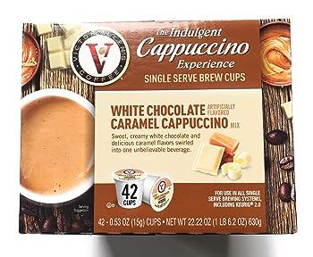 Victor Allen Indulgent Cappuccino K-cups