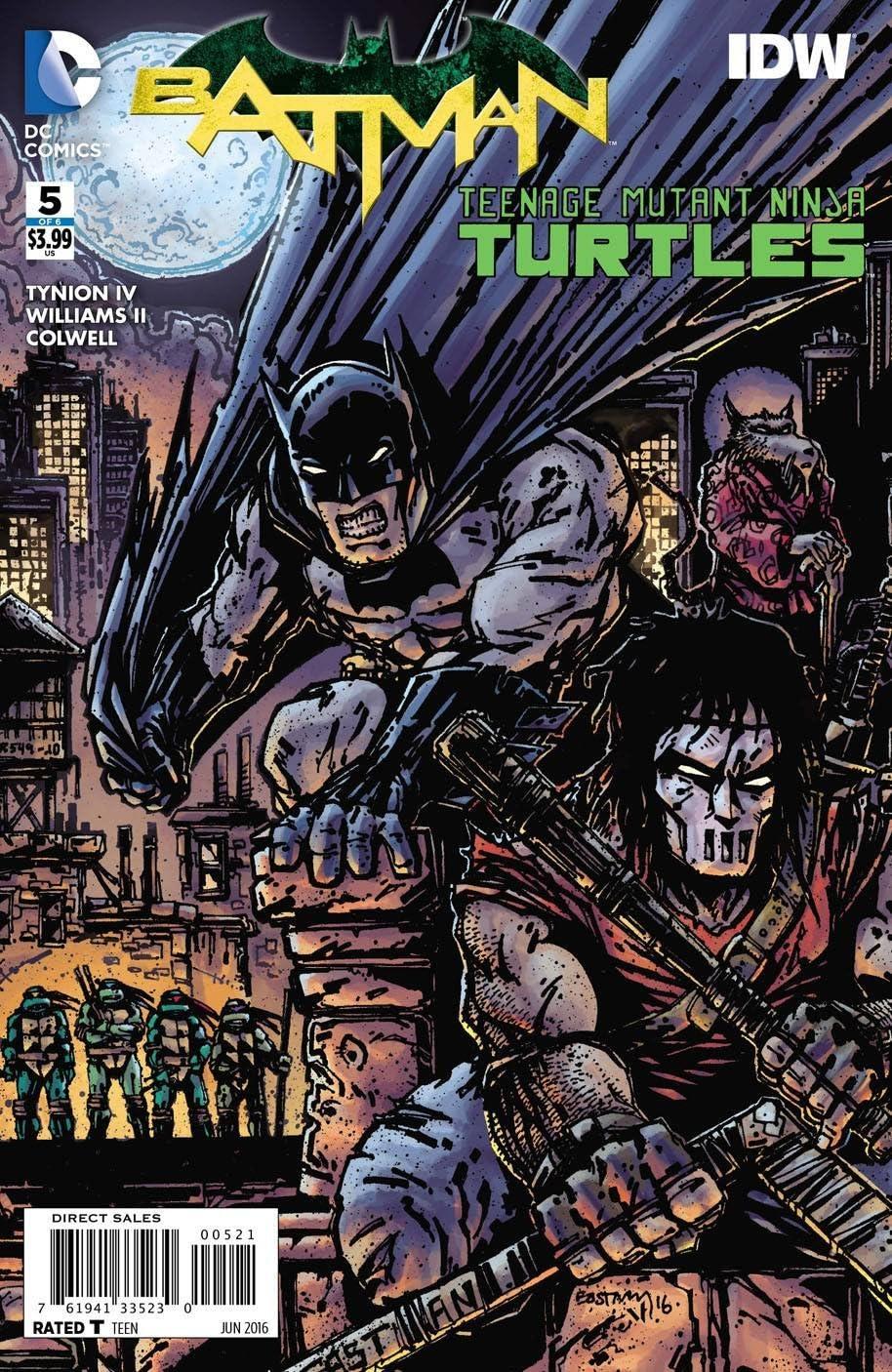 Amazon.com : Batman Teenage Mutant Ninja Turtles #5 (Eastman ...