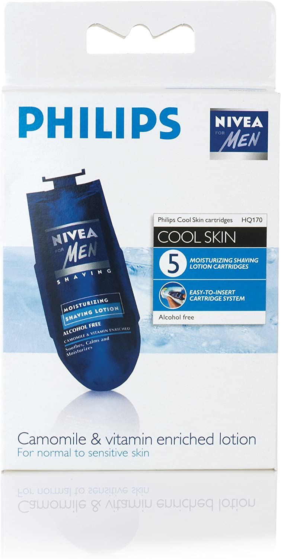Philips HQ170/03 - Loción de afeitado NIVEA para afeitadoras ...
