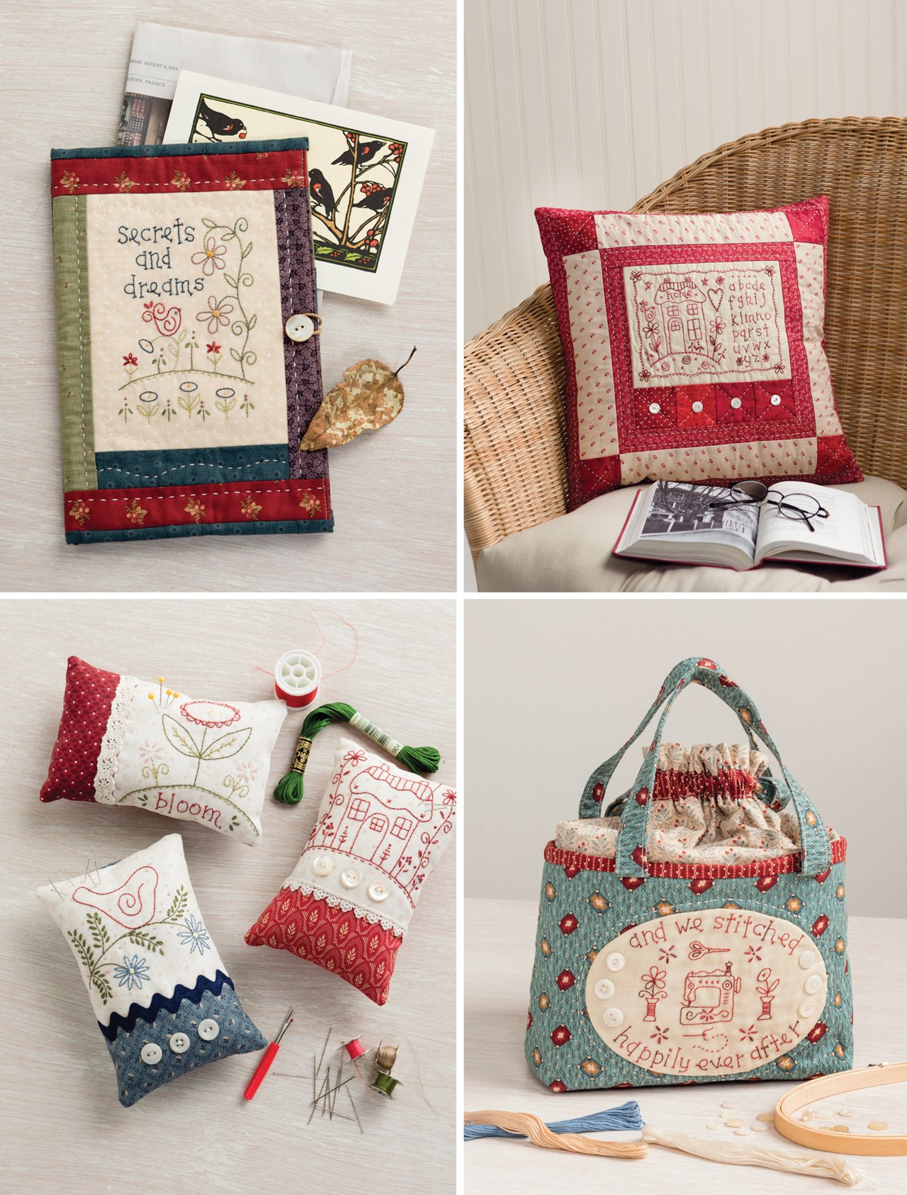 Patchwork Loves Embroidery: Hand Stitches, Pretty Projects by That Patchwork Place (Image #4)
