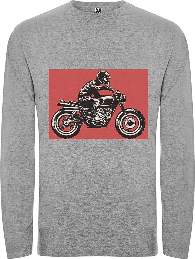 Camiseta Hombre Manga Larga moto
