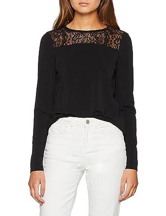 Vero Moda Vmalberta Lace L S Top Noos, Débardeur Femme  Amazon.fr  Vêtements  et accessoires 73d3693fc698