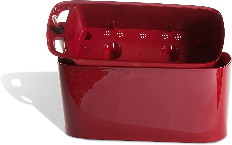 Algreen 15505 windowsill Planter, Red