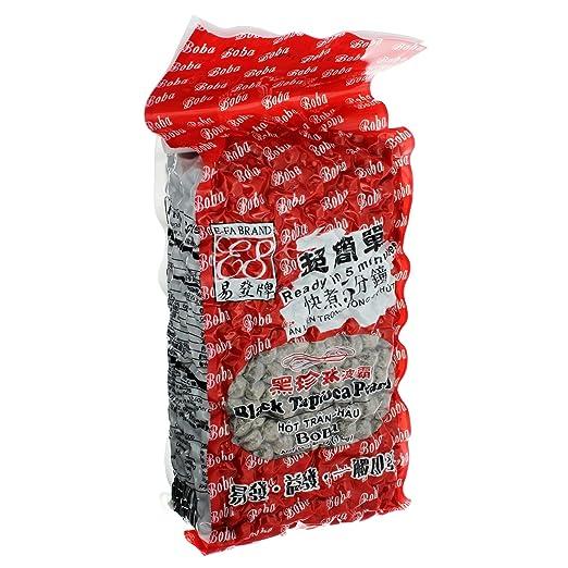 E Fa Brand Bubble Tea Black Tapioca Pearl 2.2LB: Amazon.com: Grocery U0026  Gourmet Food