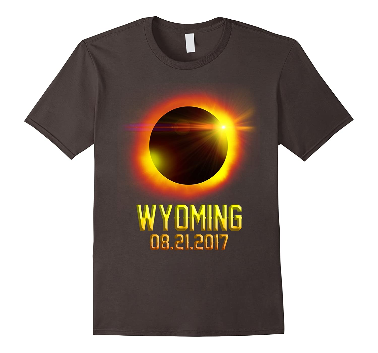 Wyoming Total Solar Eclipse 2017 shirt