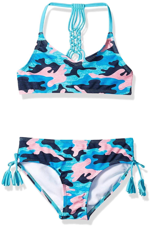 Loveso Womens Sports Beachwear Bikini Two-Piece Short Swimsuit Sports Swimsuit