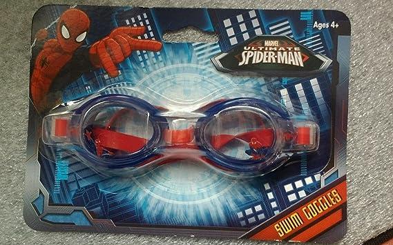 Disney Authentic Spider Man Kids Swim Goggles Swimwear Boys Accessory Super Hero