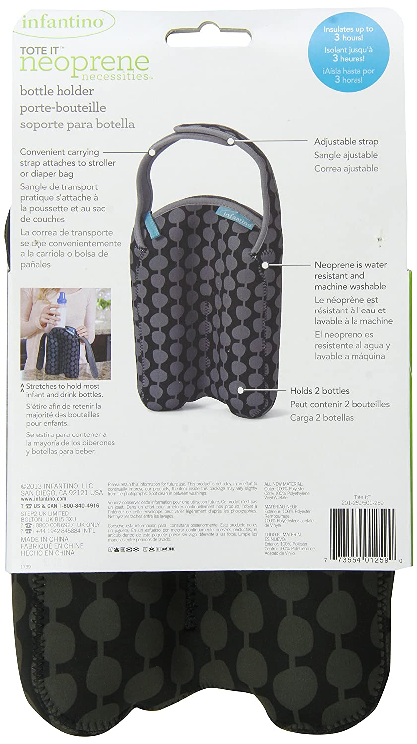 Amazon.com : Infantino Tote It Bottle Holder : Baby Bottle Tote Bags : Baby
